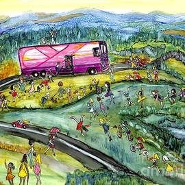 Chasing the Pink Bus by Patty Donoghue