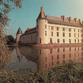 Chateau du Plessis-Bourre in Angers, France, Europe by Masha Lince