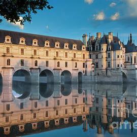 Chenonceau Dawn - Loire Valley - France by Brian Jannsen