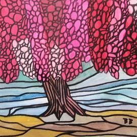 Cherry Blossom Tree by Bradley Boug