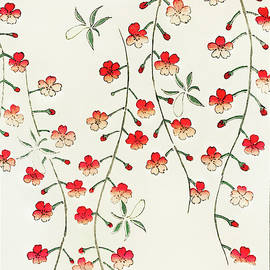 Cherry Blossoms - Japanese traditional pattern design