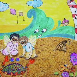 Cherubs @ the Beach by Tina Albert
