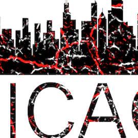 Chicago Art, Chicago Wall Decor, Chicago Skyline, Chicago Print, by David Millenheft