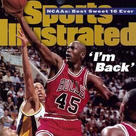 Chicago Bulls Michael Jordan... Sports Illustrated Cover