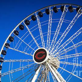 Chicago Centennial Ferris Wheel by Robert Knight