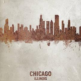 Michael Tompsett - Chicago Illinois Rust Skyline