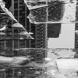 Chicago River Ice and Architecture #1 by Lauri Novak