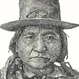 Chief Sitting Bull by Michael Volpicelli