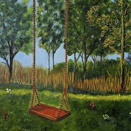 Childhood Swing, Lasting Memory by Judy Jones