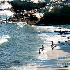 Children's Beach La Jolla by Inez Ellen Titchenal