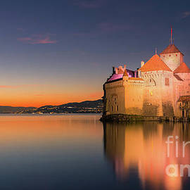 Chillon Castle 2 by Henk Meijer Photography