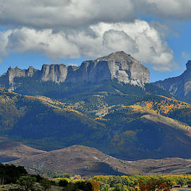 Chimney Rock And Owl Creek Pass by Ray Mathis