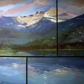 Chimney Rock Priest Lake by Betty Jean Billups