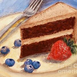 Chocolate Mousse Cake  by Lavender Liu