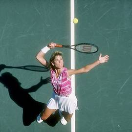 Chris Evert-lloyd by Trevor Jones