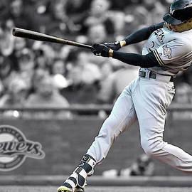 Christian Yelich, Milwaukee Brewers, Bye Bye, Home RUN, MLB