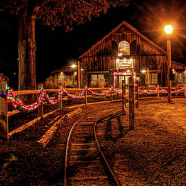 Christmas At The Barn In Smithville by Kristia Adams