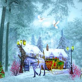 Christmas Buggy Ride by Debra and Dave Vanderlaan
