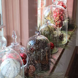 Christmas Cloche Collection by Anne Ditmars