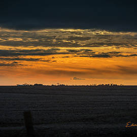 Christmas Day Sunset by Edward Peterson