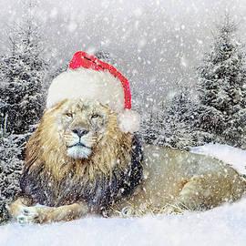 Anita Hubbard - Christmas Lion