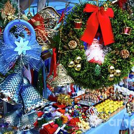 Christmas Market Stall by James Brunker