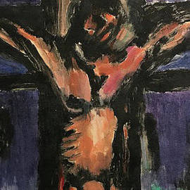 Crucifixion by Linda Anderson after Georges Rouault