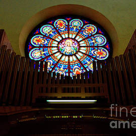 Church Pipe Organ by Debby Pueschel