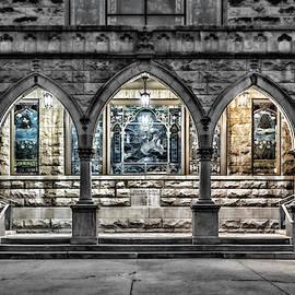 Church Walkway by Sharon Popek