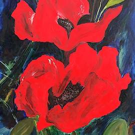 Cia's Poppies by Hyacinth Paul