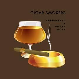 Cigar Smokers by David Rice