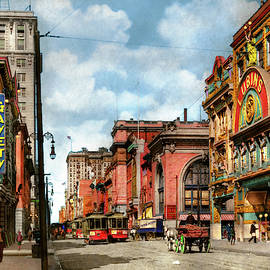 City - Baltimore MD - Adult entertainment 1910 by Mike Savad