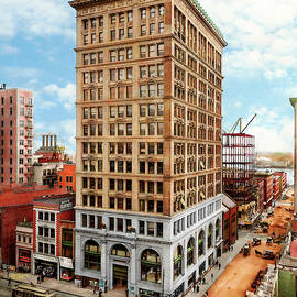 City - Baltimore MD - Rebuilding a city 1906 by Mike Savad