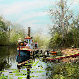 City - Brown's Landing FL - Princess and the Photographer 1890 by Mike Savad