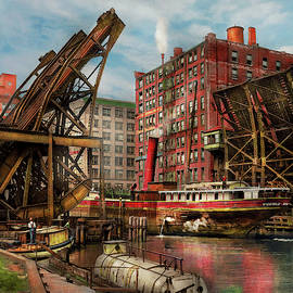 City - Chicago IL - Jacked up 1907 by Mike Savad