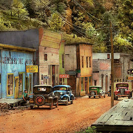 City - Mogollon NM - Before the ghosts 1940 by Mike Savad