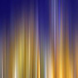 Mark Andrew Thomas - City Skyline Abstract