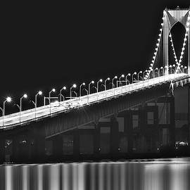 Claiborne Pell Newport Ri Bridge by Susan Candelario