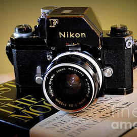 Classic 1969 Nikon F 35mm Film Camera by Rodger Painter