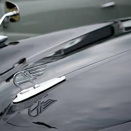 Classic Austin Car Bonnet Badge by Helen Northcott