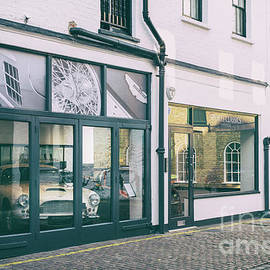 Classic Car Showroom London by Tim Gainey