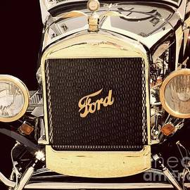 Classic Ford Car by Suzanne Wilkinson