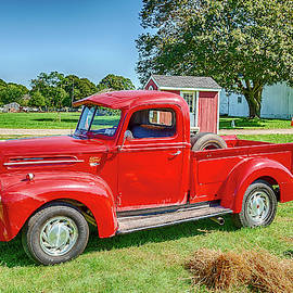 Classic Ford Pick-up Truck by Donald Lanham