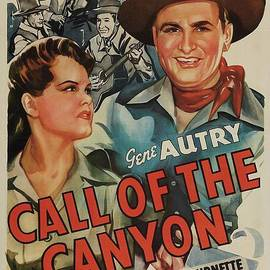 Esoterica Art Agency - Classic Movie Poster - Call of the Canyon