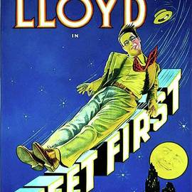 Classic Movie Poster - Feet First by Esoterica Art Agency