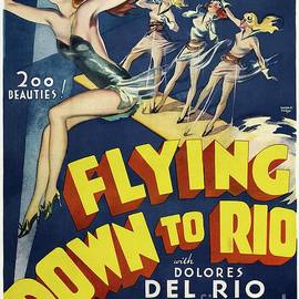 Classic Movie Poster - Flying Down to Rio by Esoterica Art Agency