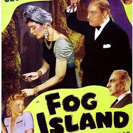 Classic Movie Poster - Fog Island by Esoterica Art Agency