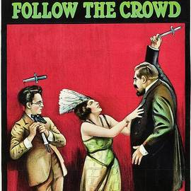 Classic Movie Poster - Follow the Crowd by Esoterica Art Agency