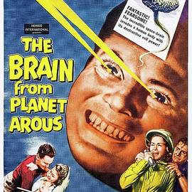 Esoterica Art Agency - Classic Movie Poster - The Brain From Planet Arous