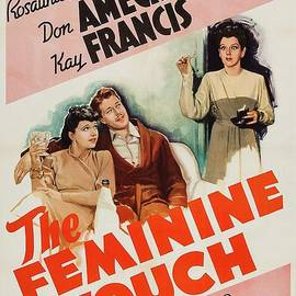 Classic Movie Poster - The Feminine Touch by Esoterica Art Agency